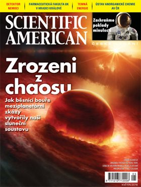 Obálka časopisu Scientific American